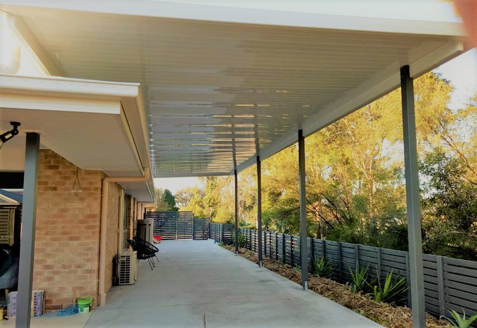 Non-Insulated Flyover - 11m x 6m- $12,460.00 Inc GST.
