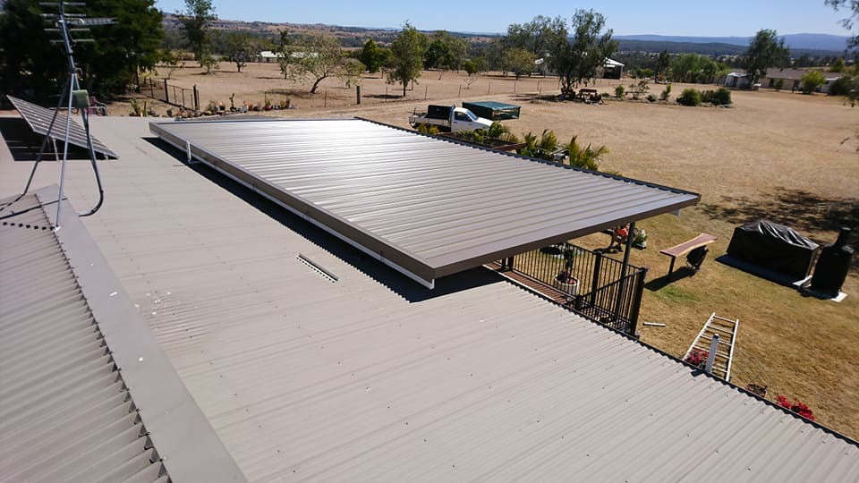 Non-Insulated Flyover - 14m x 8m- $23,460.00 Inc GST.