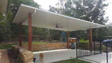 Load image into Gallery viewer, INSULATED Skillion Patio - 6m x 4m- $7,675.00 Inc GST.
