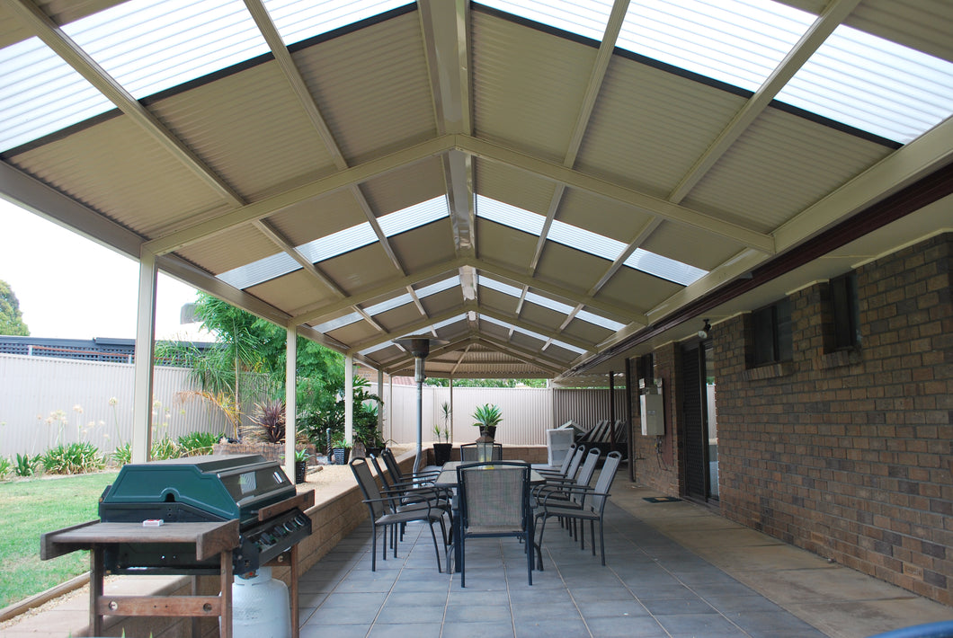 Non-Insulated Gable Patio - 8m x 4m- $11,958.00 Inc GST.