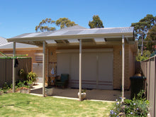 Load image into Gallery viewer, Non-Insulated Gable Patio - 8m x 6m- $13,005.00 Inc GST.