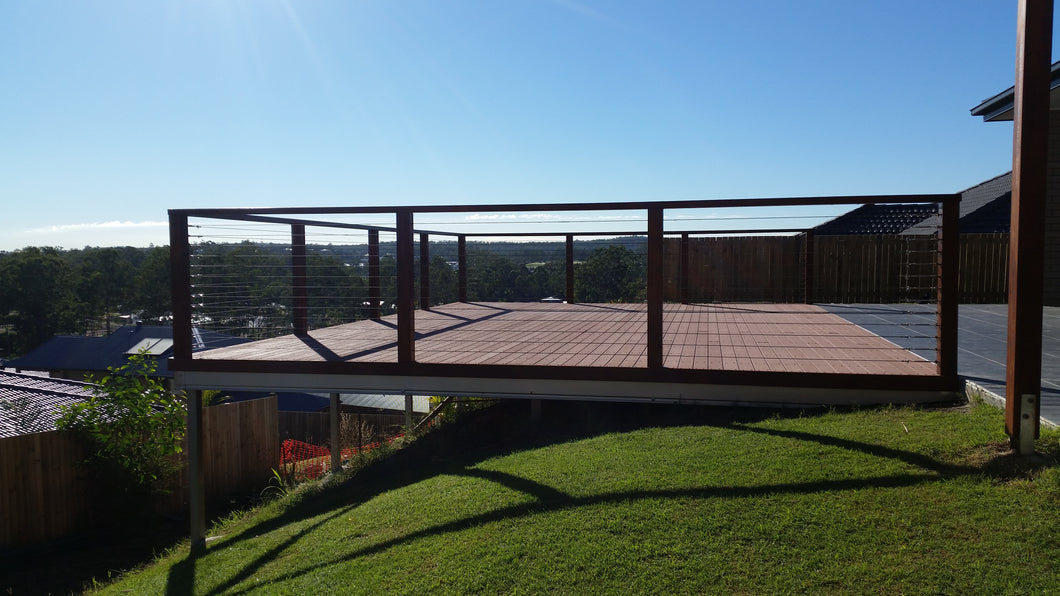 Low-Set Deck - 8m x 3m- from $11,208.00 Inc GST