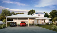 Load image into Gallery viewer, Hip Carport - 6m x 6m- $11,496.00 Inc GST.