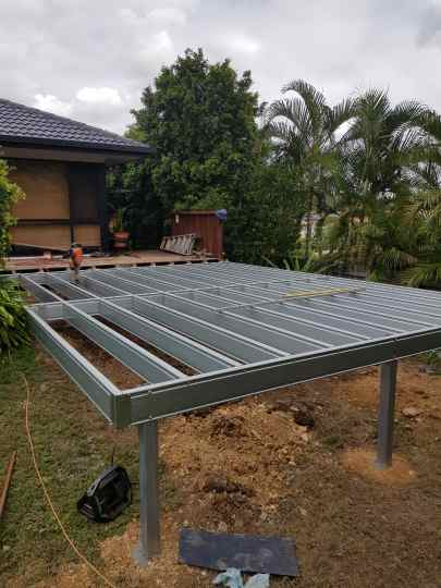 Low-Set Deck - 9m x 4m- from $12,615.00 Inc GST.