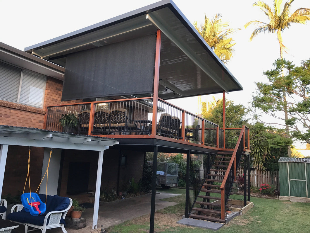 High-Set Deck - 10m x 6m- from $23,485.00 Inc GST.