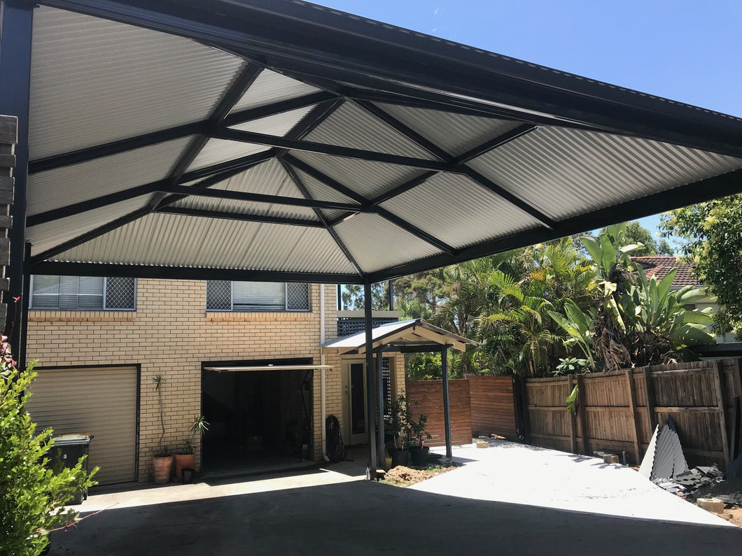 Hip Carport - 7m x 6m- $10,835.00 Inc GST.