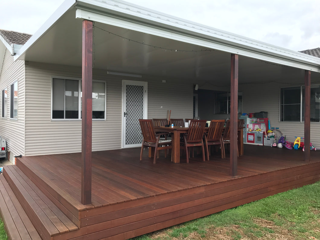 NON-INSULATED Skillion Patio - 10m x 6m- from $9,405.00 Inc GST.