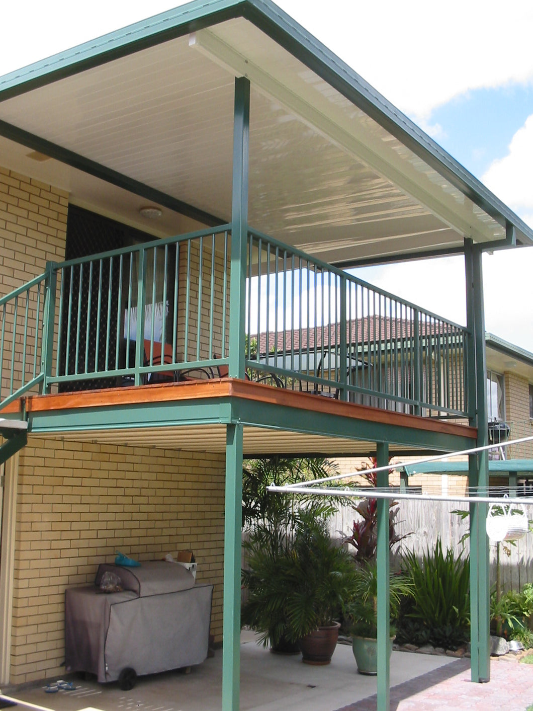 High-Set Deck - 5m x 5m- from $17,550.00 Inc GST.