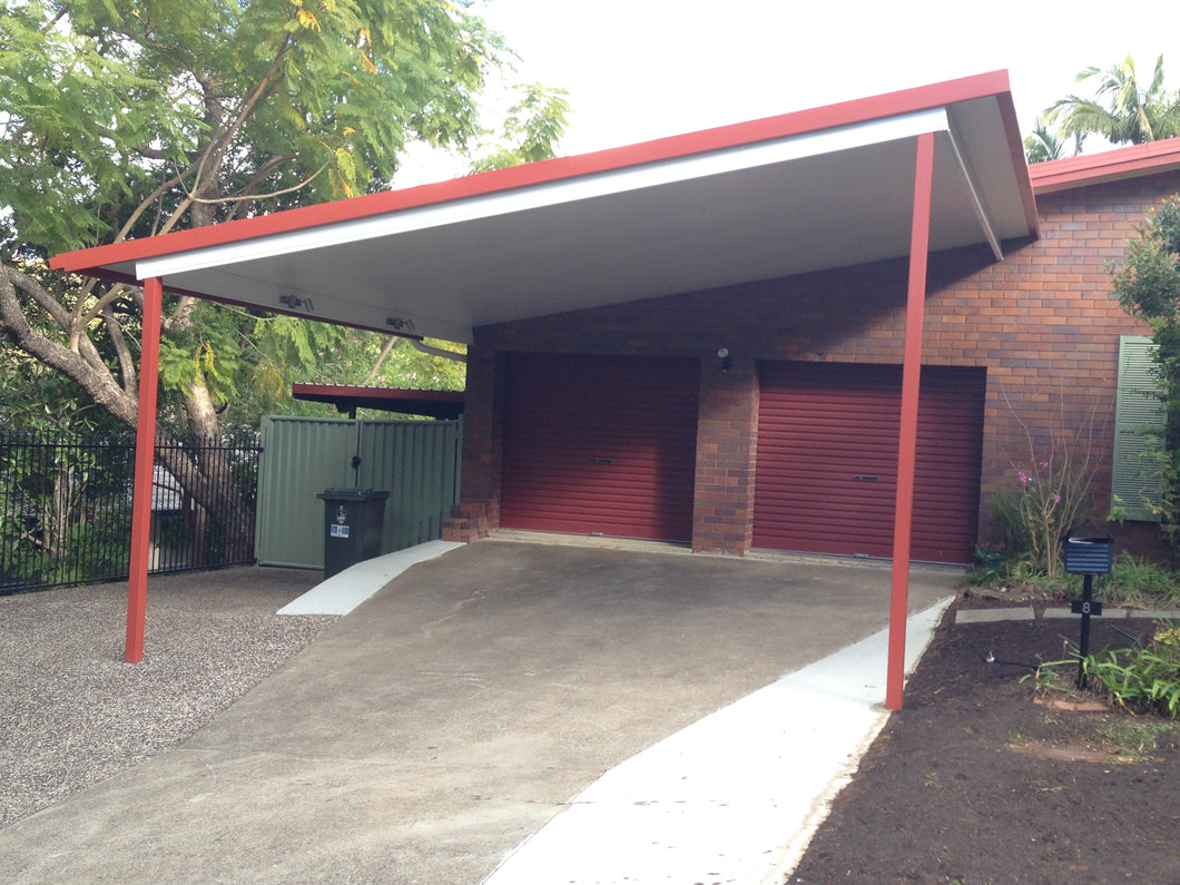 Skillion Carport - 9m x 6m- $9,474.00 Inc GST.