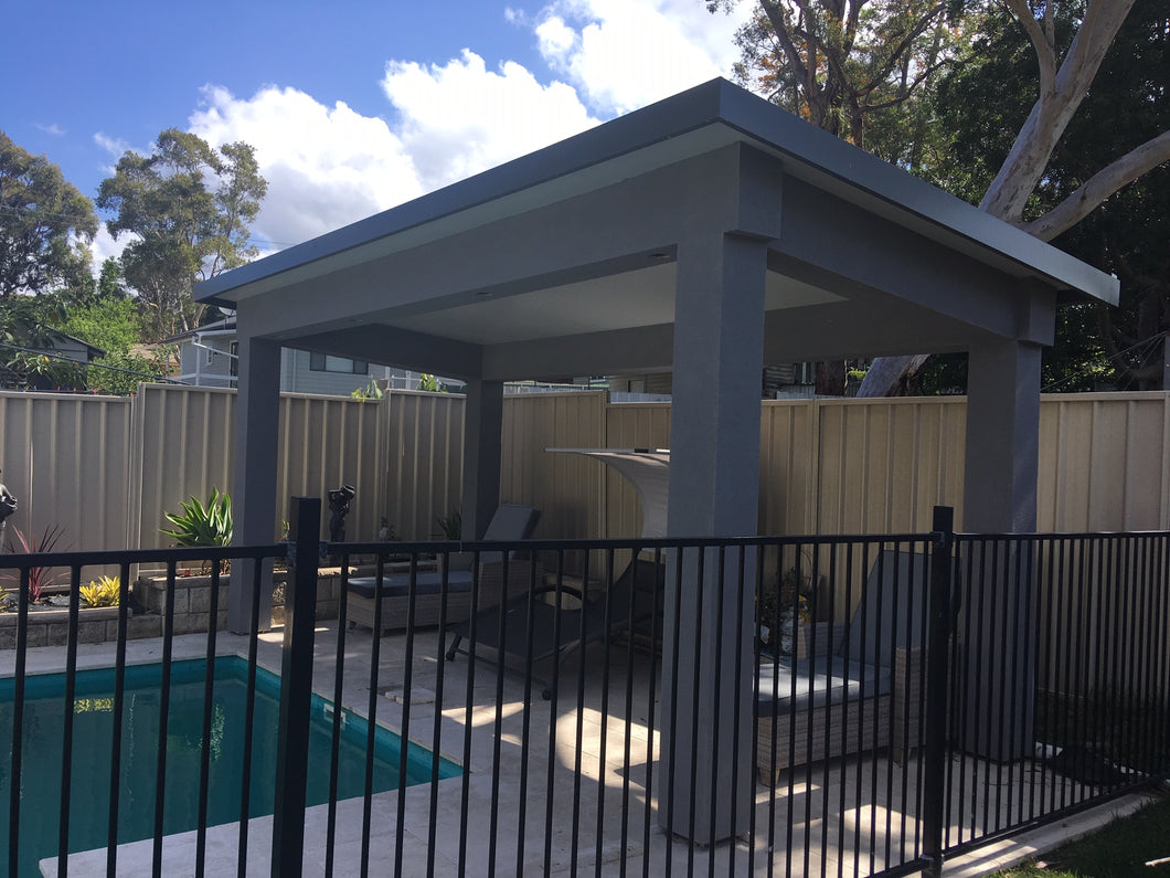 NON-INSULATED Skillion Patio - 11m x 4m- from $8,790.00 Inc GST.