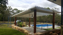 Load image into Gallery viewer, INSULATED Skillion Patio - 7m x 6m- $11,965.00 Inc GST.