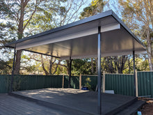 Load image into Gallery viewer, NON-INSULATED Skillion Patio - 7m x 5m- from $6,265.00 Inc GST.