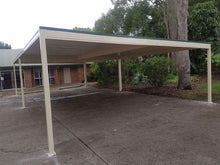 Load image into Gallery viewer, Skillion Carport  - 6m x 6m- $4,980.00 Inc GST