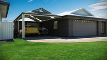 Load image into Gallery viewer, Dutch Gable Carport - 7m x 4m- $11,220.00 Inc GST.