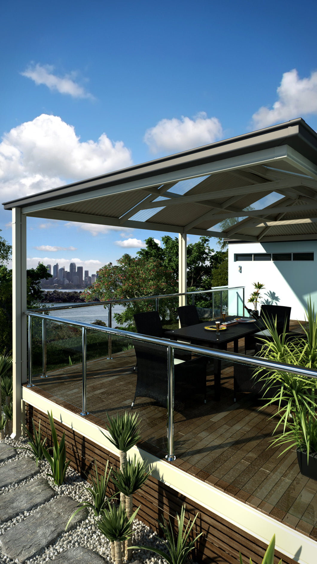 Deck and Roof - 7m x 4m - from $24,990.00 Inc GST.