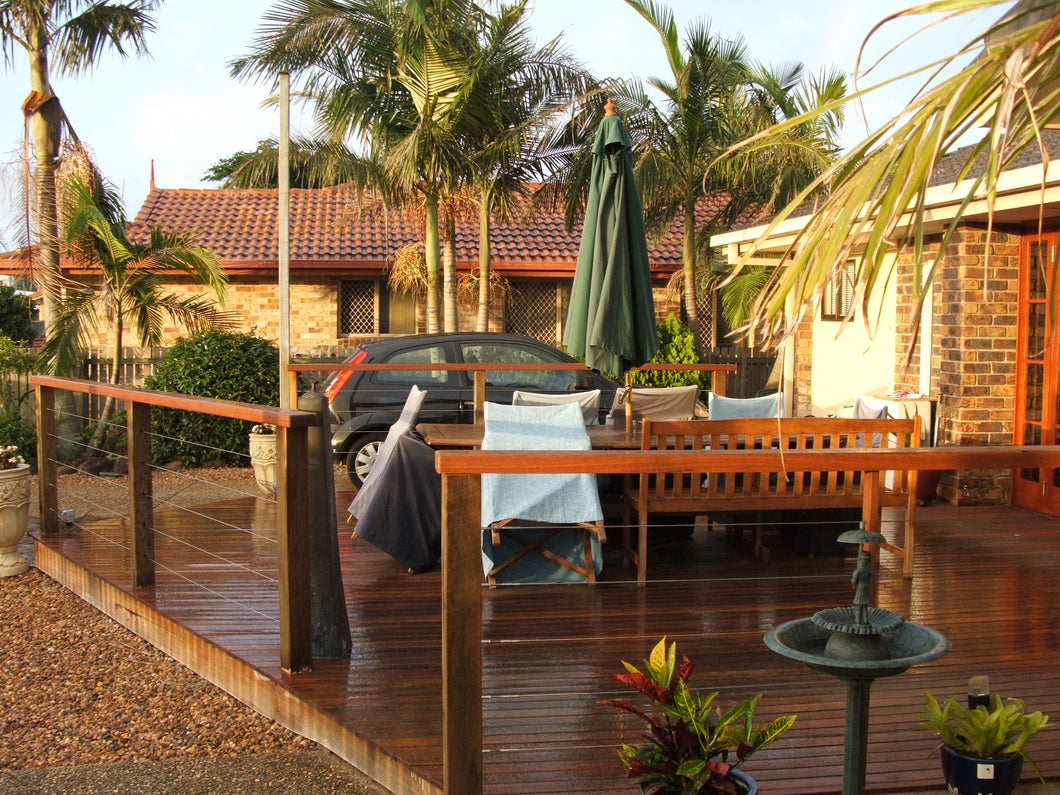 Low-Set Deck - 5m x 5m- from $8,800.00 Inc GST.