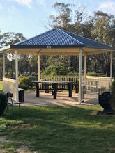 Load image into Gallery viewer, Gazebo - 8-sided 4m- $8,955.00 Inc GST.