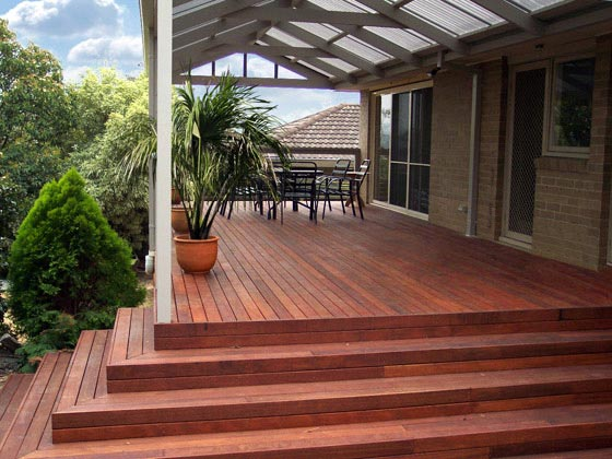 Low-Set Deck - 15m x 4m- from $28,410.00 Inc GST.