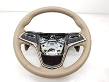 14-16 Cadillac CTS Steering Wheel w/ Paddle Shift Cashmere OEM Genuine