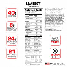 Load image into Gallery viewer, Labrada Lean Body MRP Meal Replacement Protein Shake, 79g Single Serve Packet