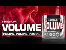 Load and play video in Gallery viewer, Magnum Nutraceuticals VOLUME Pumping Powder, 24 Servings