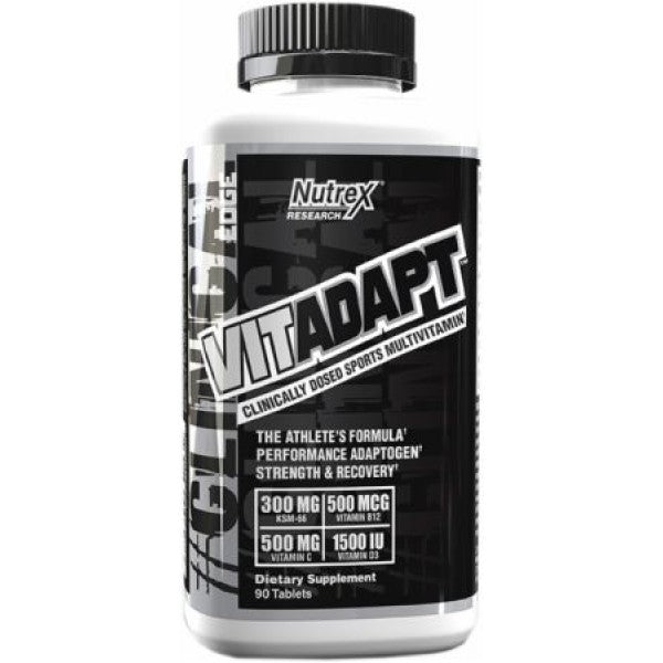 Nutrex VITADAPT Clinically Dosed Sports Multivitamin, 90 Tablets