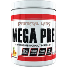 Load image into Gallery viewer, Primeval Labs MEGA PRE Intense Pre-Workout Formula, 20/40 Servings