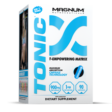 Load image into Gallery viewer, Magnum Nutraceuticals TONIC Testosterone Booster, 90 Capsules