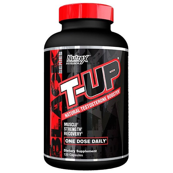 Nutrex T-UP Natural Testosterone Booster, 120 capsules