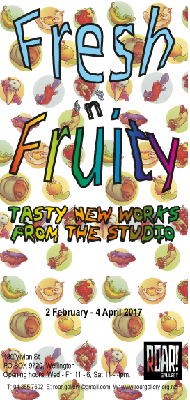 Fresh 'n' Fruity Tasty New Works from the Studio
