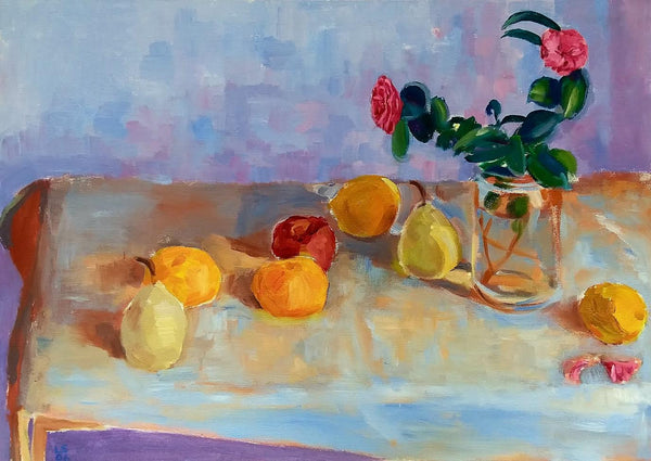 Fruit and Flower, Late Afternoon Light by Luke Sullivan