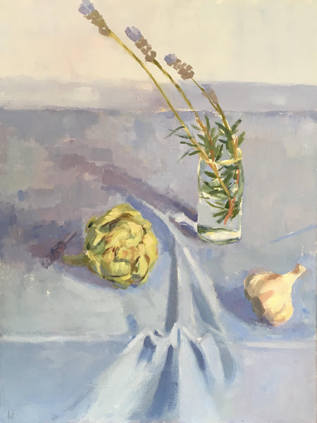 Still Life With Artichoke by Luke Sullivan