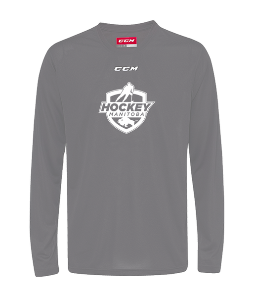Hockey Manitoba CCM Performance Long Sleeve