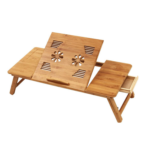 Table de lit bambou