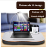 Support table de lit pour ordinateur