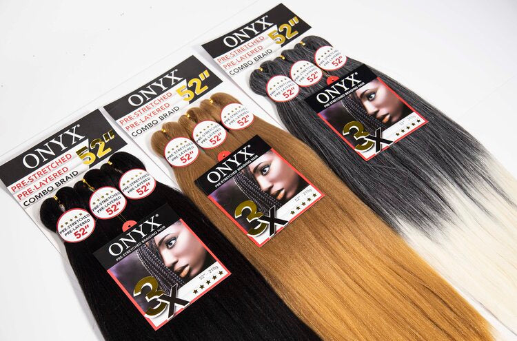 Onyx Pre Stretched Synthetic Combo Braid