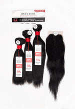 Load image into Gallery viewer, Onyx Remi 9A Triple Wet & Wavy Deep Wave Bundle With Lace Closure