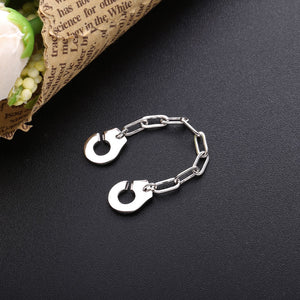 925 Sterling Silver Handcuff Ring