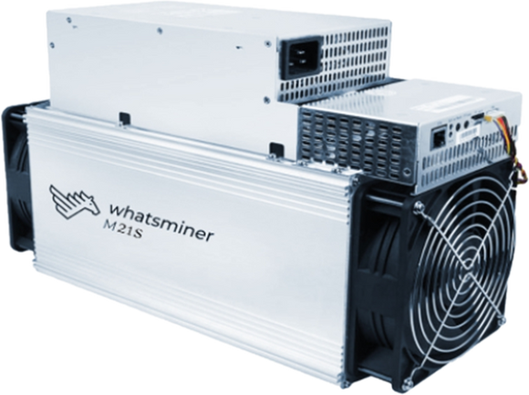 Used M21S 56T BTC BCH Miner WhatsMiner - Buy BTC 123