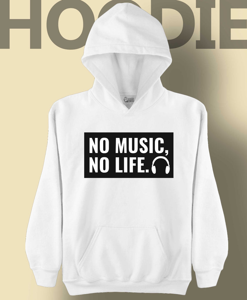 No Music No Life White
