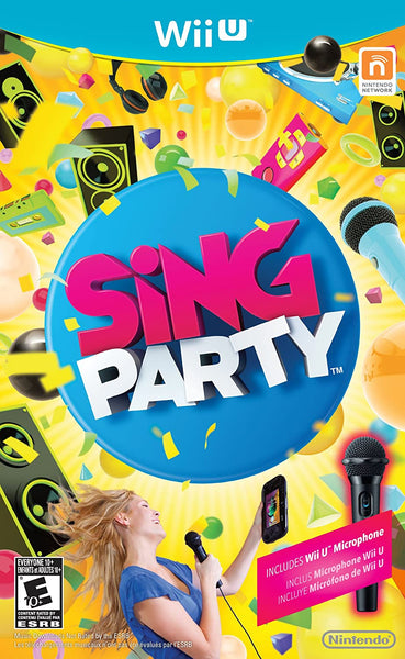 Wii U - Sing Party
