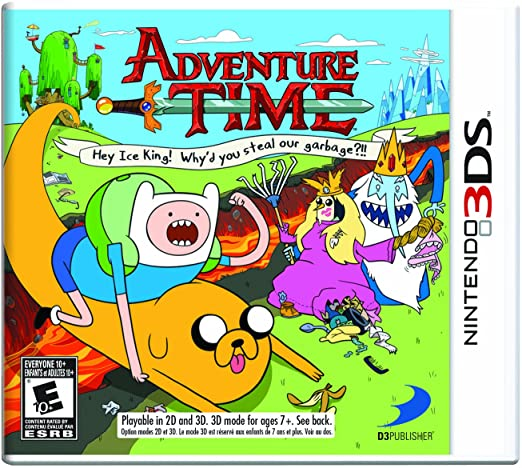 3DS - Adventure Time: Hey Ice King!