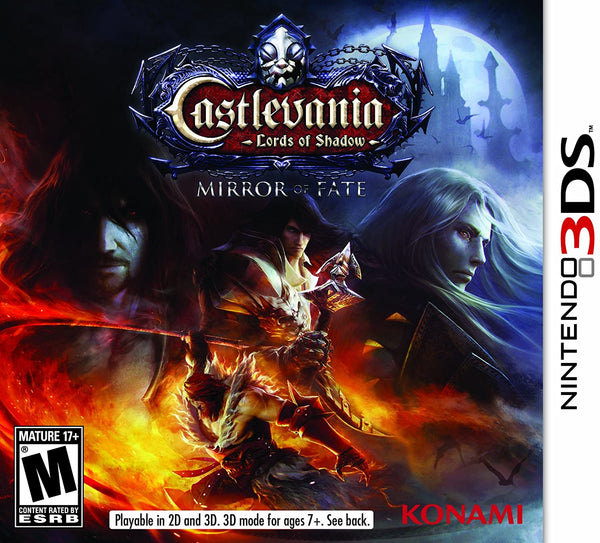 3DS - Castlevania Lords of Shadow: Mirror of Fate