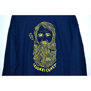 Crooked Coast Sweatshirt- Seabeard Crewneck