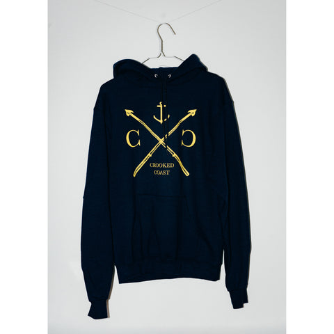 Crooked Coast Hoodie - Harpoon & Anchor