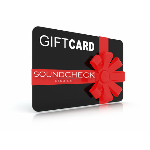 Soundcheck Gift Card
