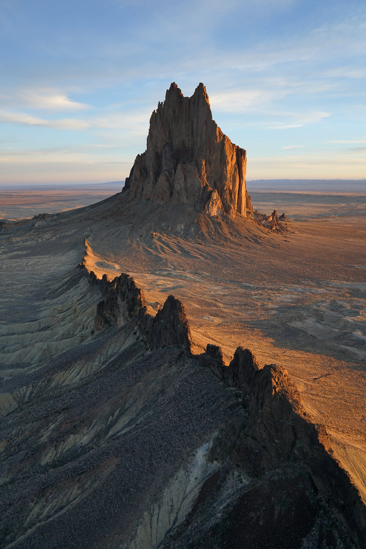 Shiprock Wall Vertical