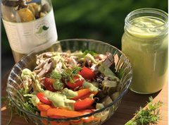 Super Simple Creamy Dill Salad Dressing
