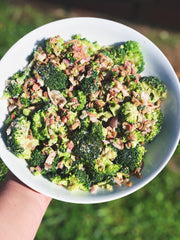 Banging Broccoli Salad