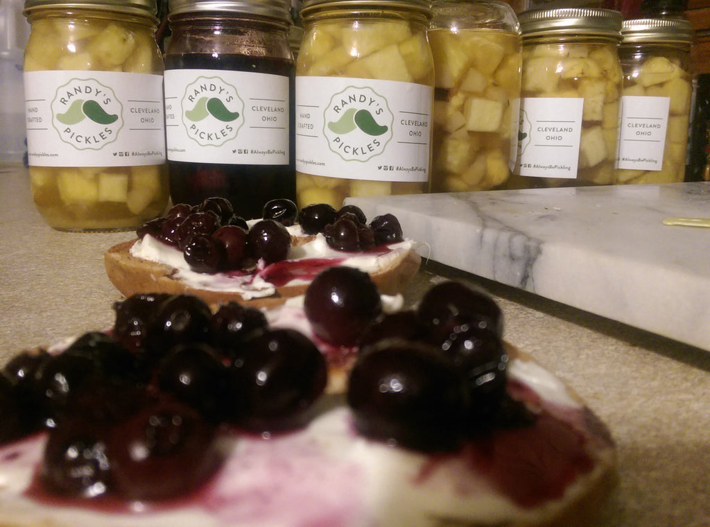 Sweet Vermouth Pickled Blueberries